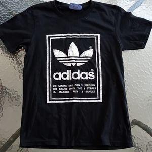 Adidas The Brand with Three Stripes Graphic Tshirt